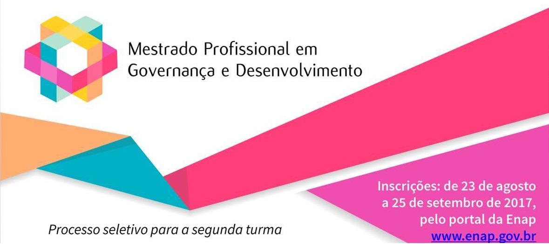 ENAP – Mestrado Profisssional em Governança e Desenvolvimento