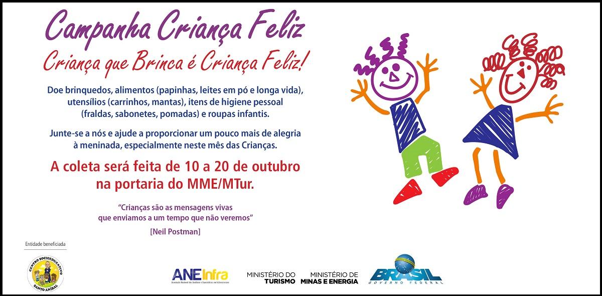 Campanha Criança Feliz no MME/MTur – 2017