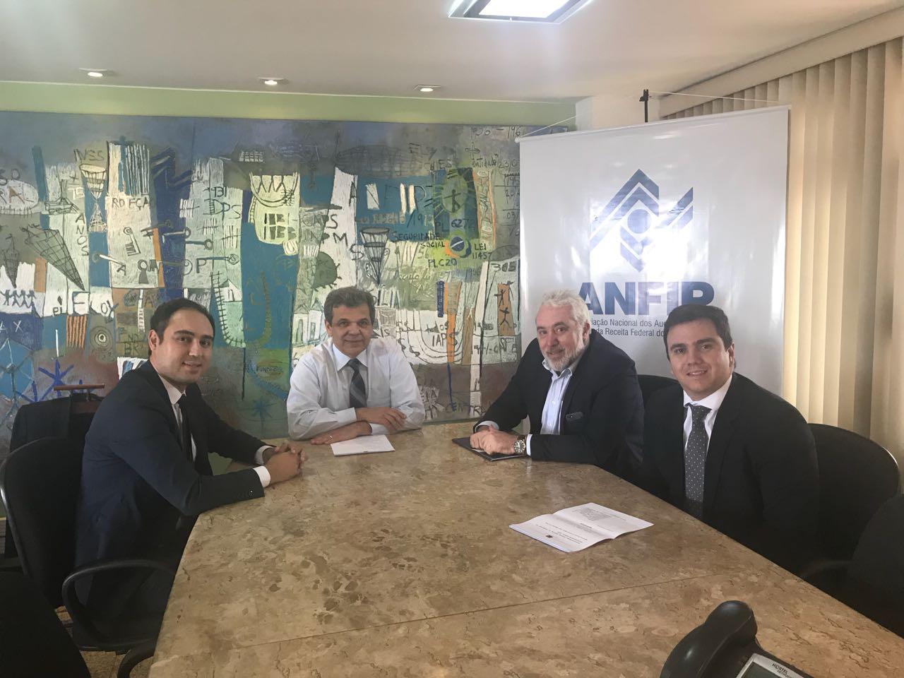 ANEInfra e ANFIP fazem reunião e defendem parceria de entidades